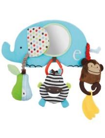 Навесная игрушка на бампер коляски Skip Hop Stroller Bar Toy - Alphabet Zoo