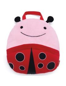 Одеяло-подушка в дорогу Skip Hop Zoo Travel Blanket - Ladybug