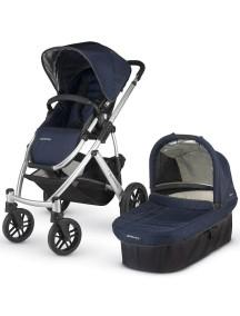 Детская коляска UPPAbaby VISTA 2014 (Аппабейби Виста) 2в1 Синяя