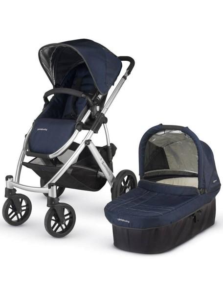 Детская коляска UPPAbaby VISTA 2в1 Синяя