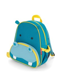 Детский рюкзак Skip Hop Zoo Pack - Hippo (Гиппопотамчик)