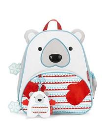 Подарочный детский рюкзак Skip Hop Zoo Pack - Polar Bear (Белый мишка)