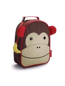 Детская термо-сумка для еды Skip Hop Zoo Lunchies - Monkey (Обезьянка)