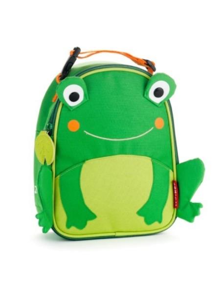Детская термо-сумка для еды Skip Hop Zoo Lunchies - Frog (Лягушонок)