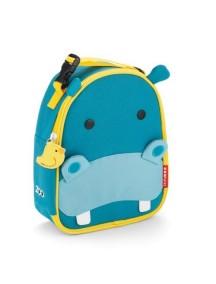 Детская термо-сумка для еды Skip Hop Zoo Lunchies - Hippo (Гиппопотамчик)