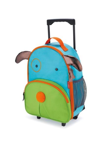 Детский чемодан на колесах Skip Hop Zoo Luggage - Dog (Щенок)