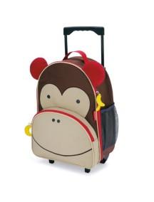 Детский чемодан на колесах Skip Hop Zoo Luggage - Monkey (Обезьянка)