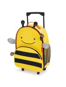 Детский чемодан на колесах Skip Hop Zoo Luggage - Bee (Пчелка)