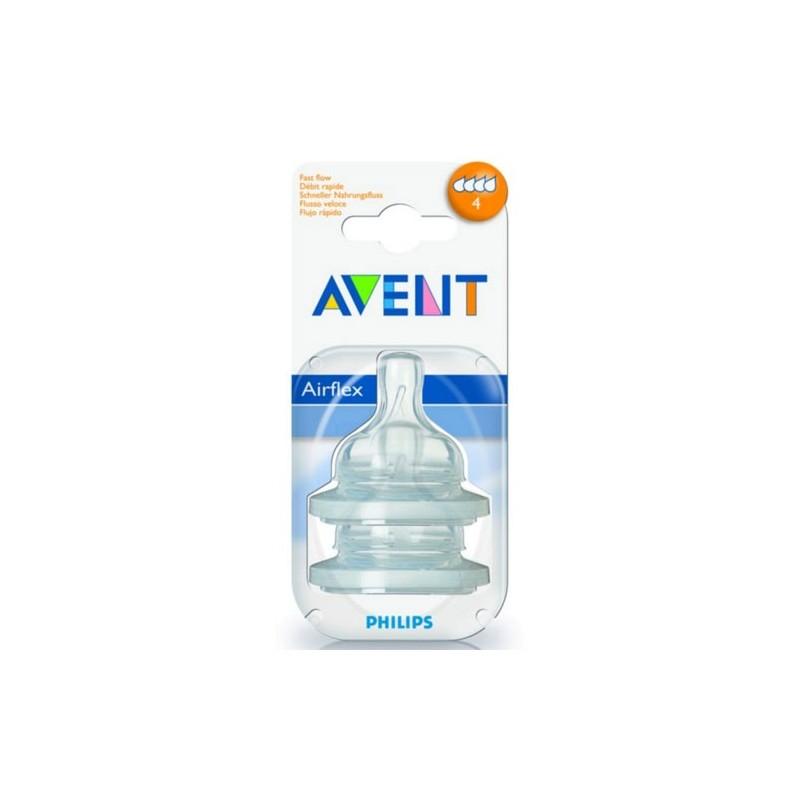 Philips-Avent Соска для бутылочек (поток средний) от 3-х мес. - Вдомедетки