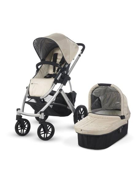 Детская коляска UPPAbaby VISTA 2в1 Бежевая