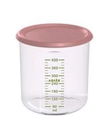 """Beaba """"Maxi+ Portion"""" Контейнер для хранение продуктов 500 мл , Light Pink"""