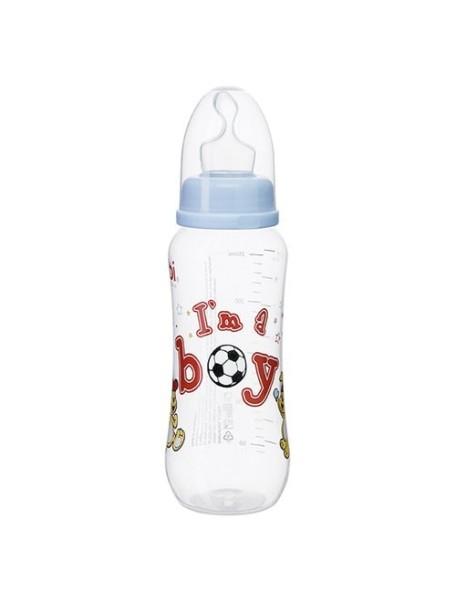"Bibi ""Little Stars"" Бутылочка для кормления 250 мл [ art. 108429 ], Мальчик"