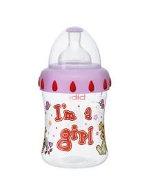 "Bibi ""Little Stars"" Бутылочка для кормления 250 мл , Девочка"