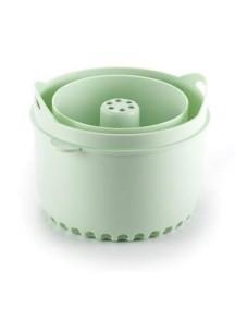 "Beaba ""Rice cooker for Babycook"" Контейнер для варки круп [ art. 9122 ], 912265 / Pastel Blue"