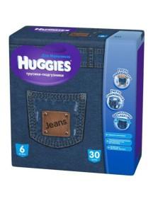 Huggies Трусики-подгузники для мальчиков от 16 до 22 кг, упаковка 30 шт.