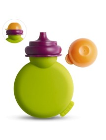 """Beaba """"Babypote"""" Контейнер для пюре из силикона [ art. 9121 ], 912159 / Green"""