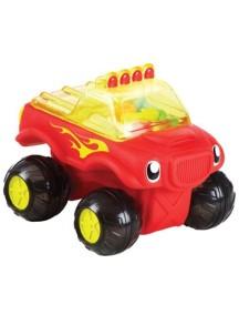 """Munchkin """"Monster Truck"""" Игрушка для ванной машинка на колёсиках [ art. 11424 ], Красный"""