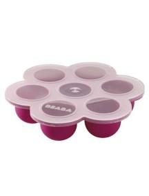 """Beaba """"Silicone Multi Portions"""" Силиконовый многопорционный контейнер, 912263 / Plum"""