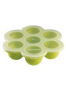 """Beaba """"Silicone Multi Portions"""" Силиконовый многопорционный контейнер, 913142 / Green"""