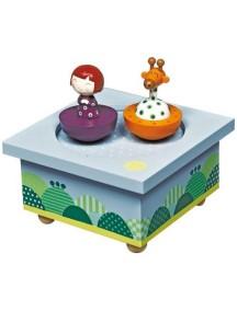 "Trousselier ""Ninon & Giraffe"" Музыкальная шкатулка Wooden Box"