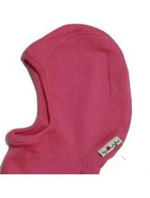 "Babyidea ""ManyMonths"" Шапка-шлем из шерсти мериноса , 0-4 мес., Розовый / 1636"