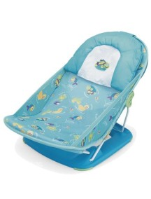 """Summer Infant """"Deluxe Baby Bather"""" Лежак с подголовником для купания, 18500 / Голубой"""