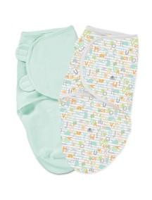 """Summer Infant """"SwaddleMe"""" Конверт для пеленания (2 шт. в комлекте), 76800 / Алфавит, L"""