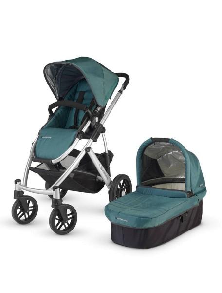Детская коляска UPPAbaby VISTA 2в1 Зеленая