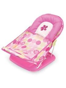 """Summer Infant """"Deluxe Baby Bather"""" Лежак с подголовником для купания, 18515 / Розовый"""