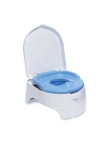 Summer Infant Детский горшок + стульчик подножка, 11010 / Голубой