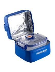 """Miniland """"Pack-2-Go-Hermifresh"""" Термосумка с 2 вакуумными контейнерами, 89072 / Синяя"""