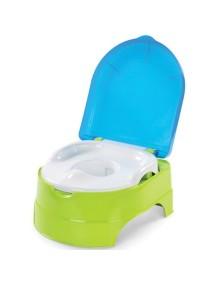 """Summer Infant """"My Fun Potty"""" Детский горшок + стульчик подножка, 11400 / Салатовый-голубой"""