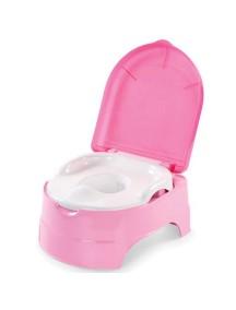 """Summer Infant """"My Fun Potty"""" Детский горшок + стульчик подножка, 11427 / Розовый"""