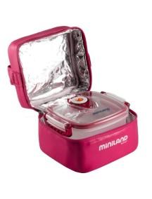 """Miniland """"Pack-2-Go-Hermifresh"""" Термосумка с 2 вакуумными контейнерами, 89139 / Розовая"""