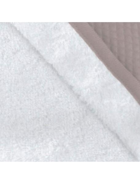 "Red Castle ""Apron Bath Towel"" Махровое полотенце-фартук с уголком от 0 до 36 месяцев [ art. 0308 ], 030847 / White-Taupe"