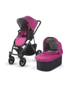 Детская коляска UPPAbaby VISTA 2014 (Аппабейби Виста) 2в1 Розовая