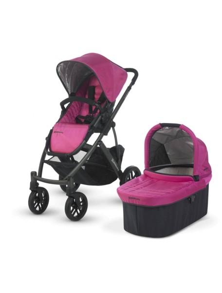 Детская коляска UPPAbaby VISTA 2в1 Розовая