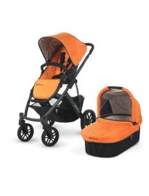 Детская коляска UPPAbaby VISTA 2014 (Аппабейби Виста) 2в1 Оранжевая