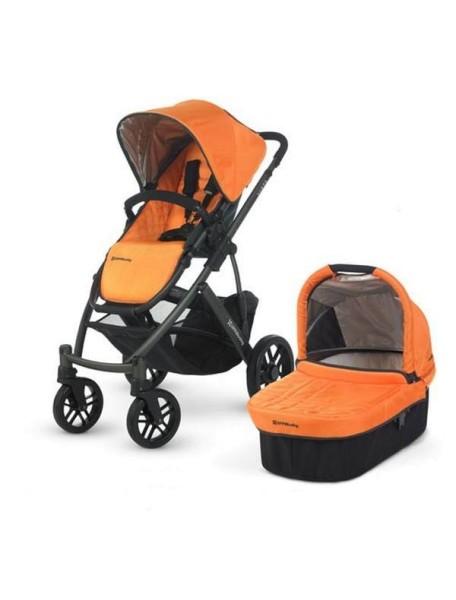 Детская коляска UPPAbaby VISTA 2в1 Оранжевая