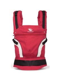 "Manduca ""NewStyle"" Эргономичный детский слинг-рюкзак-переноска, Red (Красный)"