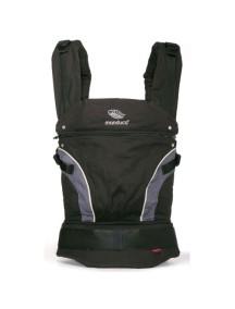 """Manduca """"NewStyle"""" Эргономичный детский слинг-рюкзак-переноска, Black (Черный)"""