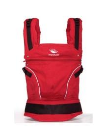"Manduca ""PureCotton"" Эргономичный слинг-рюкзак для переноски ребенка, Chili red (Красный)"