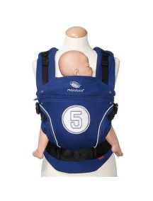 """Manduca """"Limited Edition"""" Эргономичный детский слинг-рюкзак-переноска, HighFive Royal"""