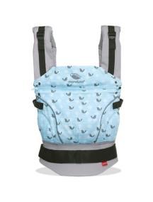 """Manduca """"Limited Edition"""" Эргономичный детский слинг-рюкзак-переноска, Birdie SparklingBlue"""