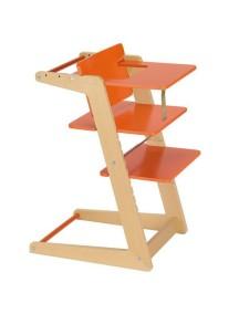 """Herlag-Kettler """"UNO"""" Стульчик для кормления [ art. H4889 ], 9006 / Nature - Orange"""