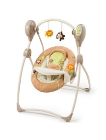 "Summer Infant ""Swingin Safary"" Детские люлька-качели [ art. 23190 ], Бежевый"