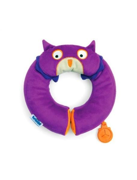 Подголовник Trunki Yondi Owl Сова - фиолетовый