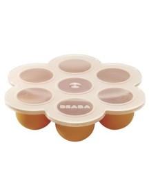 """Beaba """"Silicone Multi Portions"""" Силиконовый многопорционный контейнер, 913202 / Orange"""