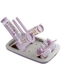 Beaba Сушка для бутылочек и сосок складная , 911374 / Pastel Pink