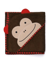 Полотенце с капюшоном Skip Hop Zoo Hooded Towel - Monkey (Обезьянка)